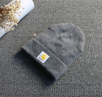 acrylic beanie hat - 2015 New Carhartt Mens Acrylic Watch Hat Soft Resilient Women Skull Caps Fashion Hip Hop Beanie Colors
