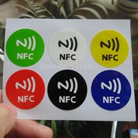 Others alarm labels - PET NFC Tag Stickers Adhesive RFID Tags Label DIfferent Colors Alarm Clock Control All Phones Compatible