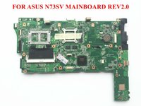 asus warranty support - Original Mainboard for ASUS N73SV motherboard Rev2 PGA989 DDR3 N13P GL2 A1 days Warranty Fully tested and