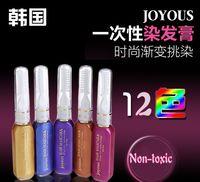 Wholesale Color Hair Mascara Non toxic Temporary Hair Mix Color Dye Pastel
