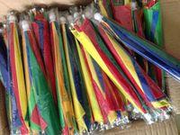 Wholesale Famous Funny Umbrella For Adults Fashion Rainbow Printed Hiking Golf Umbrella Hat One Piece Anti Rain Head Umbrella For Fishing