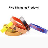 Wholesale Set Of Five Nights At Freddy s Wristband Rubber Bracelet Five Nights At Freddy s Silicone Bracelet Wrist Straps FNAF