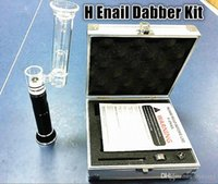 vapors - Latest Version H e nail g9 mah henail Kit glass h enail enail kits dab rig e nail vapor dabber vape dnail wax dry herb DHL free