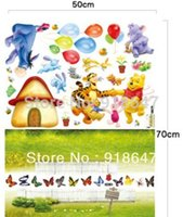 art friend products - Cute Bear and Friends New Product Wall Decals Removable Stickers Baby Room Art Kids Nursery Mural x70cm