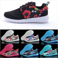 Wholesale New Design Flower Roshelyed Runs women running shoes hot sale London Mesh sports sneakers woman size