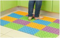 Wholesale Bathroom free stitching impermeable and anti slip bath mat cm colors