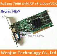 Wholesale for NEW ATI Radeon M AV S video VGA AGP Graphic Video Card order lt no track