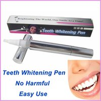Cheap 1 pc Teeth Whitening Pen Tooth Gel Whitener Bleach Stain Eraser Remove Instant Dental Care Kit Personal
