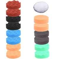Wholesale 15Pcs mm inch High Gross Polish Polishing Buffer Pad Kit for Car Polisher
