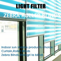 Wholesale Window zebra roller blinds curtains custom made finished blinds in colors