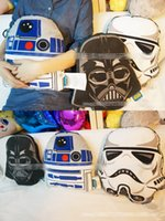 Wholesale Star Wars Plush toys cm Darth stormtrooper robot design pillow cushion Star Wars pillow case Christmas Gifts for Children E292