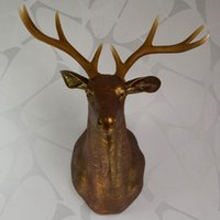 art improvement - Animal Soft loading design The deer head Wall hanging Ornaments Wall decoration Wall mounted Home improvement Handicraft