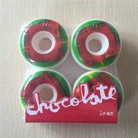 Wholesale Set Chocolate A Aggressive PU Skate Deck Wheels Street Road Cruiser Four Wheels Skate mm mm amp mm Available