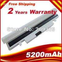 Batería para portátil blanca del envío libre para Samsung N148 N150 NP-N148 NP-N150-N150 NT Serie AA-AA-PB2VC6W PB2VC6B AA-P