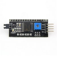 Wholesale 1Pc Board Module Port for Arduino LCD Display Adjustable Backlight of Interface Module IIC I2C TWI SPI Serial Newest