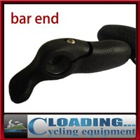 bar end lights bicycle - Hot rubber resistant metal rubber bicycle bar ends mm ultra light soft bike parts accessories freeshipping