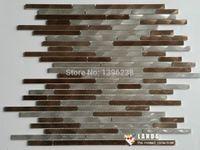 mosaic tile - strip backsplash wall tiles mosaic tiles deco mosaic tiles LSAL402
