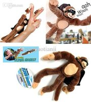 Wholesale Unique Export Quality Plush Slingshot Flying Monkey Toy Dolls Funny Plush Toy The Best Gift for Boys and Girls Boys Doll