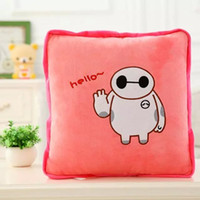Wholesale baymax cm open cm cute cartoon bolster quilt blanket patterns for choice lion totoro gift for child sets