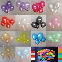 Wholesale New A colorful helium balloons Party Wedding Birthday Latex Balloons