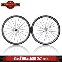 bicycle bike shop - Depth mm Clincher Road Bike Wheelset carbon wheels Width mm Carbon Bicycle Wheels Free shopping