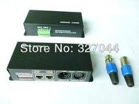 Wholesale WS2801 WS2811 LPD6803 dix cotroller led pixel controller RGB full color DMX512 decorde Channels for LED Light DC12V V