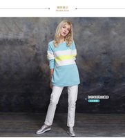 Wholesale Maternity autumn winter outwear outfit in pregnant women who dress big yards long T shirt long sleeved jacket coat the pregnant woman24
