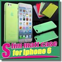 tpu gel case - Slim Matt Cases for iphone Case Ultra Thin TPU Case Soft matt Transparent TPU Gel Cover Cases For Iphone S Case Galaxy S6 S6edge Cases