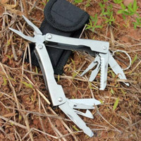 Wholesale 9in1 Outdoor Stainless Steel Multi Tool Plier Portable Pocket Mini Camping Kit KOA A3
