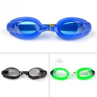 Wholesale Hot Sale Water Sports Summer Swim Swimming Goggles Set with Earplugs Nose Clip