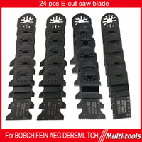 blade saw blade - 24pc Oscillating Tool saw blade fit for TCH Fein Dremel and most brands of multi tool wood cutting