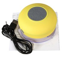 Wholesale Brand New Mini Portable Waterproof Bluetooth Speaker with Mic for Hand free Call Wireless Shower Speaker with Suction