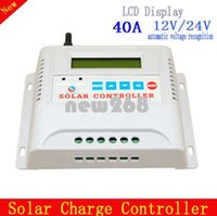 automatic solar charge controller - 12V V Automatic recognition A Solar charge controller with LCD monitor best solar charge controller