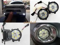 Wholesale 18W LEDs K LED Daytime Running Lights LED fog lamp Case for Mitsubishi Outlander L200 TRITON SPORTERO