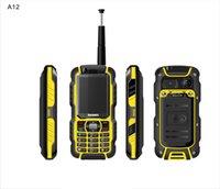 cdma cell phones - Original rugged phone A12 GSM CDMA waterproof dustproof shockproof bluetooth mobile phone cell phone telephone FM radio outdoor