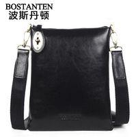 Wholesale BOSTANTEN new mens mens bags fashion Cowhide Genuine leather small messenger bag shoulder bag for men