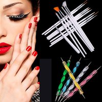 Wholesale 20pcs Professional Nail Gel Polish Art Styling Acrylic Brush Set Pinceis Design Painting Pen Tools Brushes For Pincel De Unha