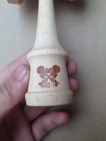 Wholesale kendama logo for guest engraving logo as we agreed