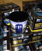 Wholesale Winter Cup Doctor who Mug Disappearing Tardis mug with Original Box Awesome Heat sensitive Police Coffee Cup Doctor Who christmas mugs R1481