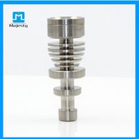 Wholesale Majesty MJB TM048 Titanium Nail mm mm mm Male Titanium Braided Nail Rig For Glass Pipe Water Piple Glass Bong