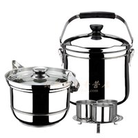 Wholesale Tianke classic l free fire reboiler stew pot roast sauceboxes soup pot steamer sauceboxes
