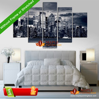 Cheap Canvas Painting 5 Piece Wall Decor Canvas Home Decoration Wall Art Pictures Landscape Large Canvas Art Cheap -- Modern Painting