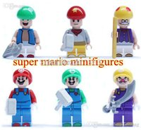 Wholesale JLB Building Blocks Anime Movie Super Mario Action Figures Minifigures Bricks Children kids Toys Christmas Gifts