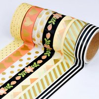 decorative tape - 32pcs New arrive Masking Tape paper Craft Stickers Pack Decorative Labelling Scrapbook
