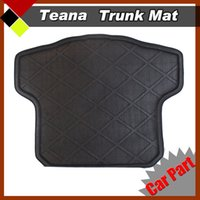 auto accessories floor mats - nterior Accessories Floor Mats Black D Auto Rear Area Floor Pad Seat Cushion Car Trunk Protector Mat Environmental protection material