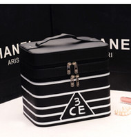 aluminum cosmetic cases - Hotsale High Quality Professional Women Makeup Bag Cosmetic Bag Large Capacity Cosmetic Cases