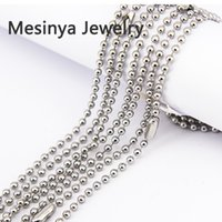 balls width - 10pcs mm width inch L stainless steel ball chain necklace for floating glass locket essential oils diffuser locket