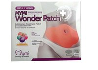 Wholesale 2015 pack MYMI Wonder Slim patch slimming belly Patches Gel Loss Weight Abdomen fat burning patch