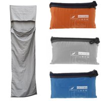 Wholesale 2015 New Outdoor camping Ultra light small Portable Envelope Single sleeping bag