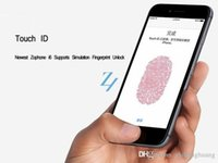Wholesale 1 Unlocked goophone i6 G Cell phones octa Core MTK6592 GB GHz MP quot Real Touch ID smartphone phones